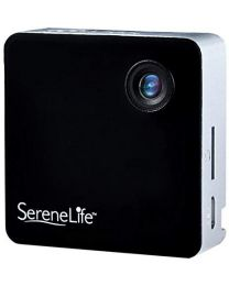 New Clip-on Wearable Camera 1080p Full HD with Built-in Wi-Fi BLACK