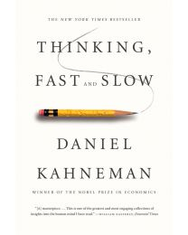 Thinking, Fast and Slow - Paperback - 2013