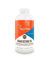 Bulletproof BRAIN OCTANE OIL -  (16OZ), Reliable and Quick Source of Energy, Ketogenic Die,