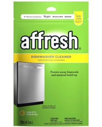 Brand New Affresh W10282479 Dishwasher Cleaner, 6 Tablets in Pouch