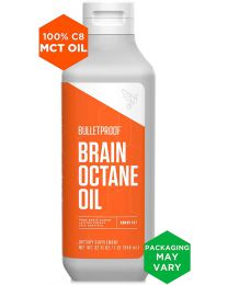 Bulletproof BRAIN OCTANE OIL -  (32OZ), Reliable and Quick Source of Energy, Ketogenic Die,
