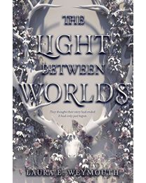 THE LIGHT BETWEEN WORLDS HARDCOVER by Weymouth NEW