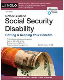 Nolo's Guide to Social Security Disability: Getting ....PAPERBACK 2020 by David A. Morton