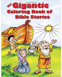 The Gigantic Coloring Book of Bible Stories PAPERBACK  2014  Tyndale