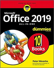 Office 2019 All-in-One For Dummies  Paperbook  2018  Peter Weverka