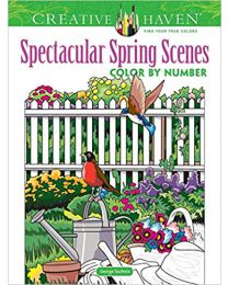 Spectacular Spring Scenes PAPERBACK – 2021 by  George Toufexis
