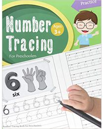 Number Tracing Book for Preschoolers: Number tracing  PAPERBACK 2017