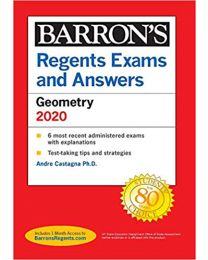 Regents Exams and Answers: Geometry 2020..PAPERBACK  Andre Castagna