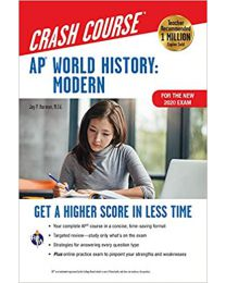 AP® World History: Modern Crash Course, For the New 2020 Exam, Book ...PAPERBACK