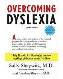Overcoming Dyslexia HARDCOVER by Sally Shaywitz