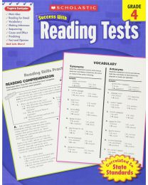 Scholastic Success With Reading Tests, Grade 4... PAPERBACK 2010 by Scholastic