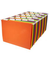 New office Hanging File Folders - Letter Size (25 Pack) - Assorted Colors