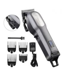Professional Hair Clipper Men Rechargeable Cordless Cutting Kit Barber Trimmer