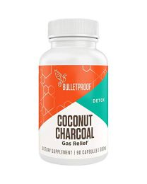 Bulletproof Coconut Charcoal, Supports Better Digestion and Gas Relief 90