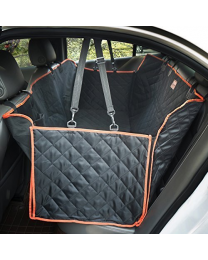 Lantoo Dog Seat Cover, Large Back Seat Pet Seat Cover Hammock for Cars, Trucks