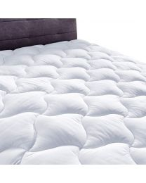 New YOUMAKO Queen Size Mattress Pad Cover Hypoallergenic Quilted Pillowtop
