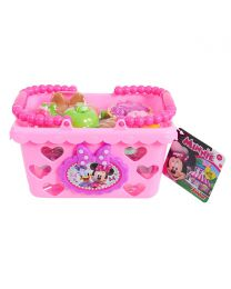 New Minnie Bow Tique Bowtastic Shopping Basket Set, Pink