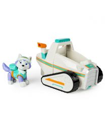 New Paw Patrol Everest's Rescue Snowmobile, Vehicle and Figure toys